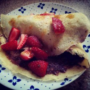Pancake a, b, c