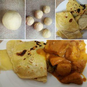 Easy Roti's (Indian Flatbreads)